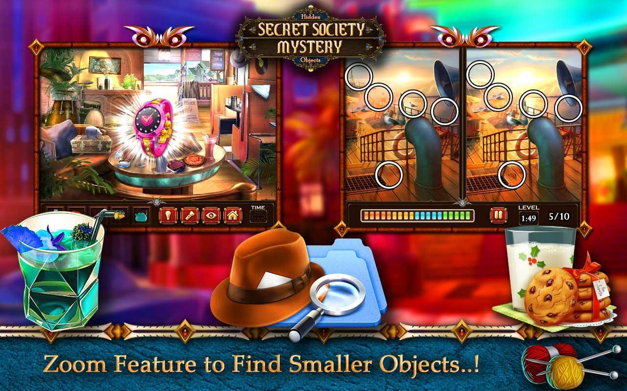 Hidden Object Games Free 200 levels : Secret for Android