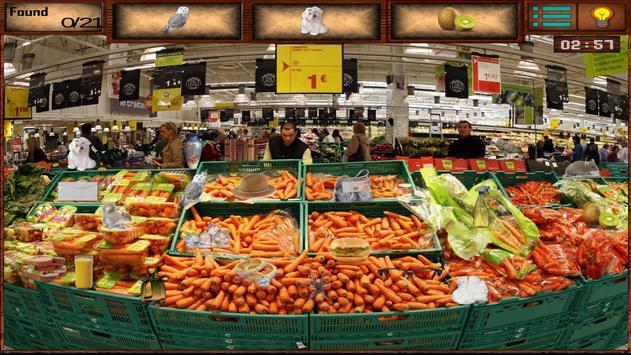 Hidden Objects Supermarket screenshot 2