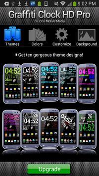 GRAFFITI CLOCK HD LITE screenshot 3