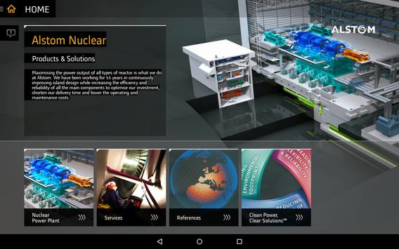 GE Nuclear Power poster