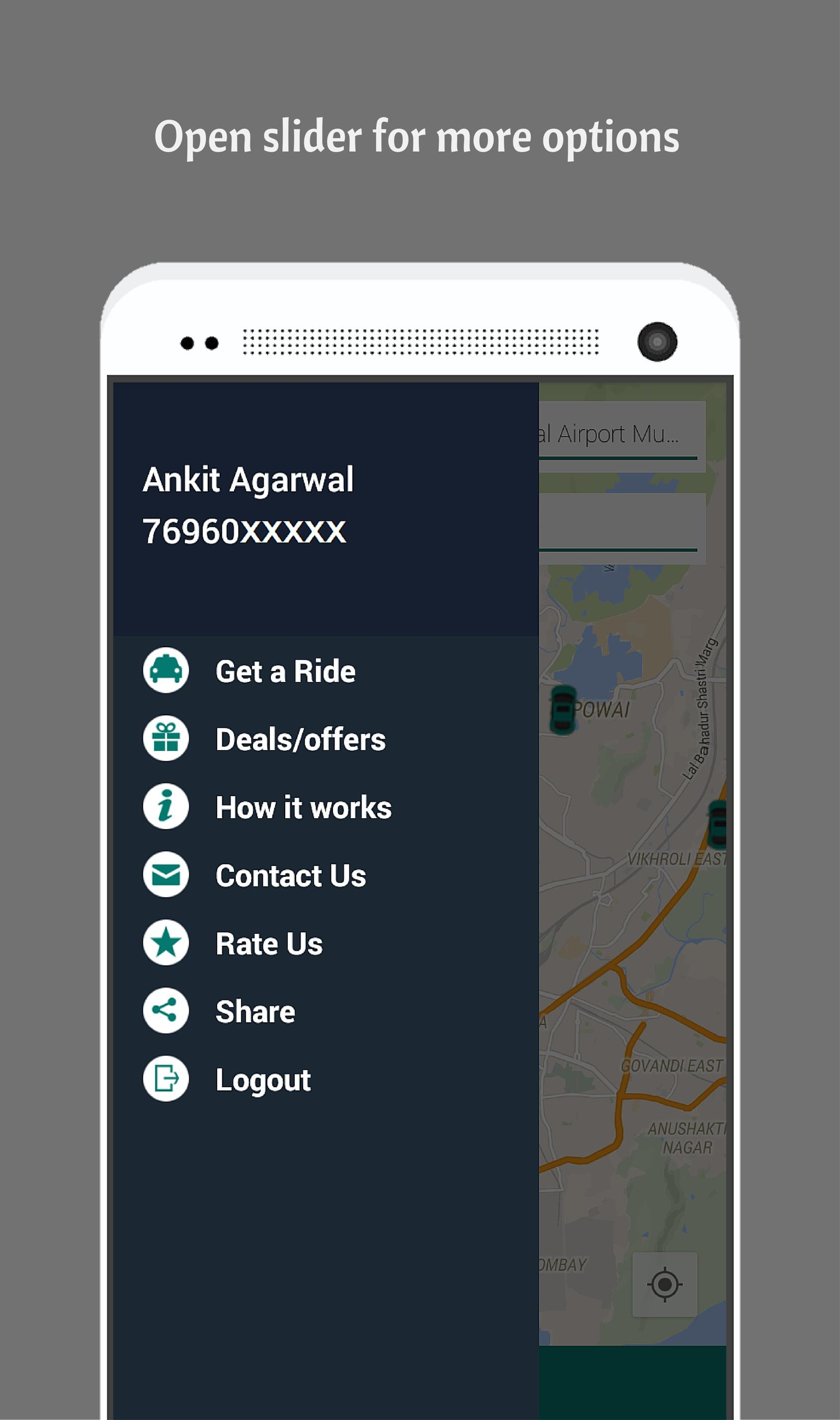Hie | Taxi Cabs App | Ola Uber for Android - APK Download