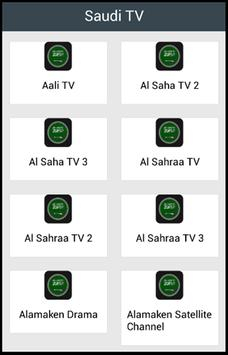 Saudi TV poster