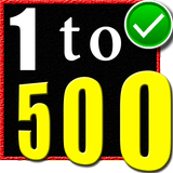1 to 500 number counting game