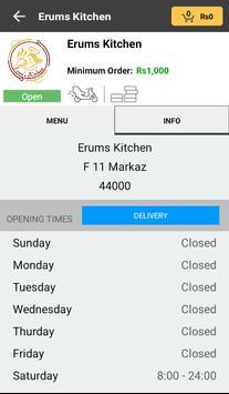 Erum's Kitchen apk screenshot