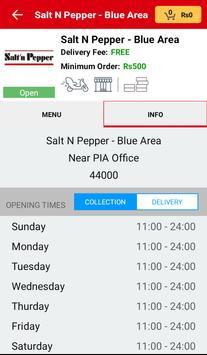 Salt N Pepper Islamabad screenshot 2