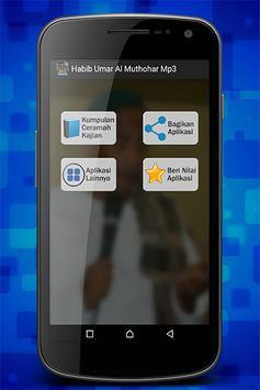 Habib Umar Al Muthohar Mp3 screenshot 2