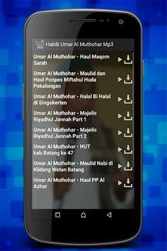 Habib Umar Al Muthohar Mp3 screenshot 3