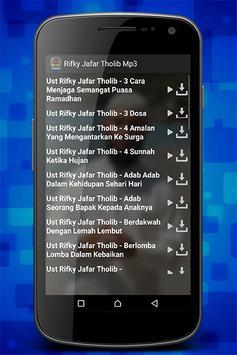 Rifky Jafar Tholib Mp3 screenshot 1