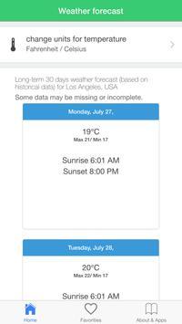 Los Angeles Weather apk screenshot
