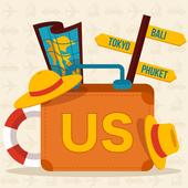 USA Travel & Trip icon