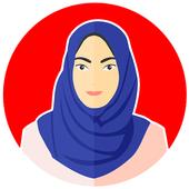 Hijab Tutorial Muslimah icon