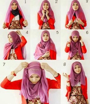Hijab Tutorial Muslimah screenshot 3