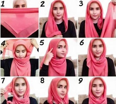 Hijab Tutorial Muslimah poster