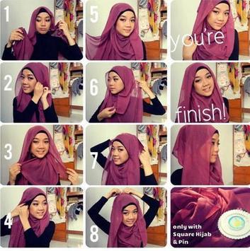 Hijab Tutorial Muslimah screenshot 1