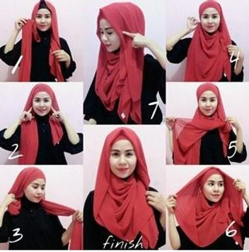 Hijab Tutorial Muslimah screenshot 2