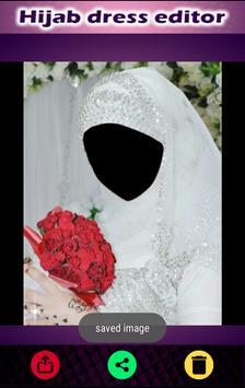 Hijab Fashion Dress Suit Photo Maker 2017 apk screenshot