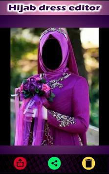 Hijab Fashion Dress Suit Photo Maker 2017 screenshot 14