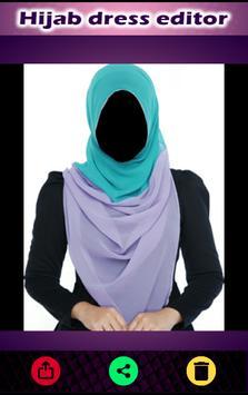 Hijab Fashion Dress Suit Photo Maker 2017 screenshot 9
