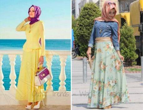 Hijab Fashion Style Ideas poster