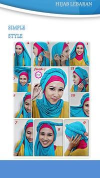 Tutorial Hijab Lebaran 2 screenshot 1