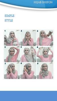 Tutorial Hijab Shiffon 3 apk screenshot