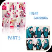 Tutorial Hijab Pashmina 3 icon