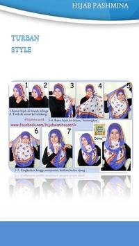 Tutorial Hijab Pashmina 3 apk screenshot