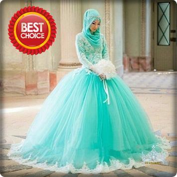 Best Hijab Wedding Dress poster