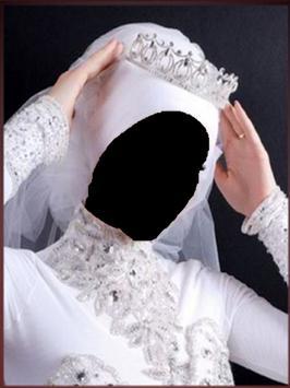 wedding hijab frame screenshot 3