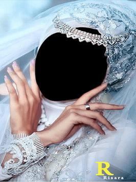 wedding hijab frame screenshot 1