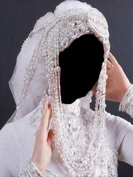 wedding hijab frame screenshot 2