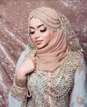 Hijab Wedding Design 2018 screenshot 2