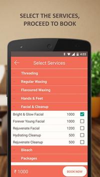 Salon Beauty Services At Home screenshot 4