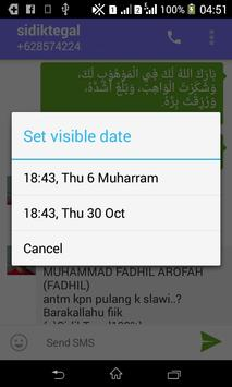 Hijry SMS apk screenshot