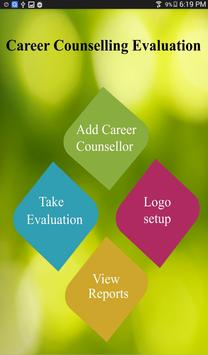 Career Counselling Evaluation poster