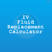IV Fluid Replacement Calci icon