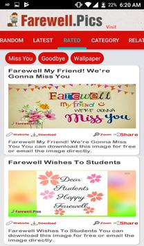 Farewell Quotes, Wishes screenshot 5