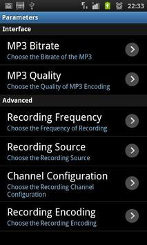 HiRecorder MP3 - (Free) screenshot 1
