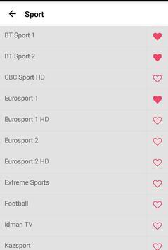 Bive TV - Channel List, Free & P2P TV apk screenshot