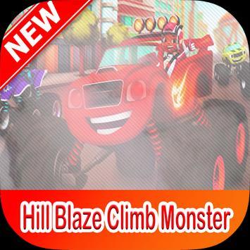 Blaze Hill Climb Monster Truck poster