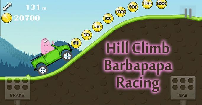 Hill Climb Barbapapa Race poster