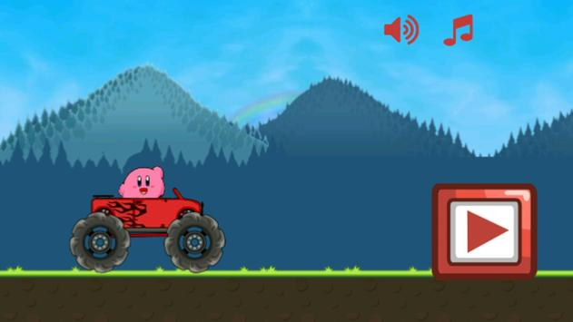 Hill Climb Kirby Racing apk screenshot