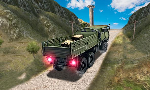Off Road Army Truck poster
