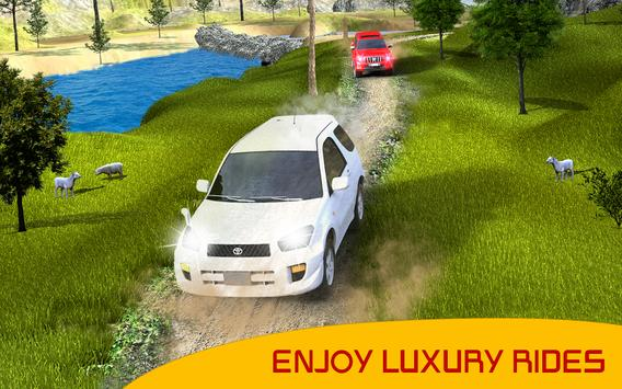 Land Cruiser Race : Real Offroad Rally Driving Sim screenshot 3