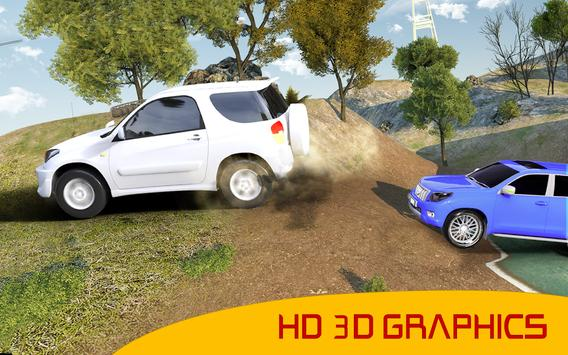 Land Cruiser Race : Real Offroad Rally Driving Sim screenshot 5