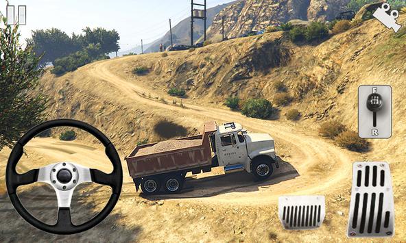 Off-road Army Truck تصوير الشاشة 10