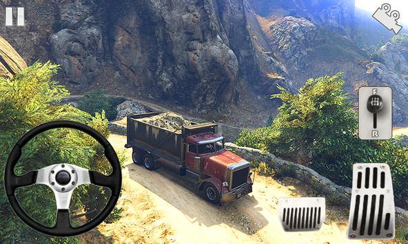 Off-road Army Truck تصوير الشاشة 9