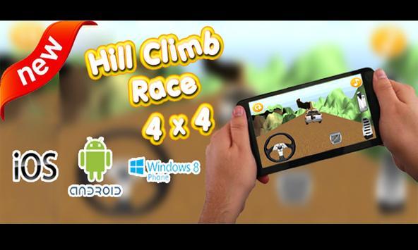 Mountain Climb Racing : 4x4 poster