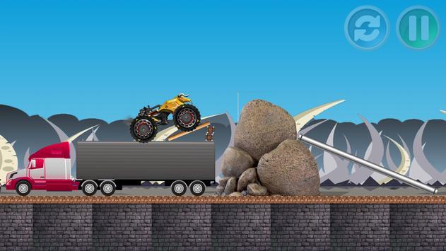 hill climb racing cars screenshot 1