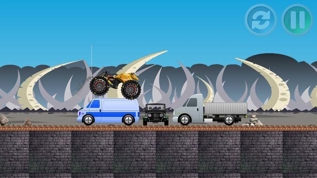 hill climb racing cars screenshot 4